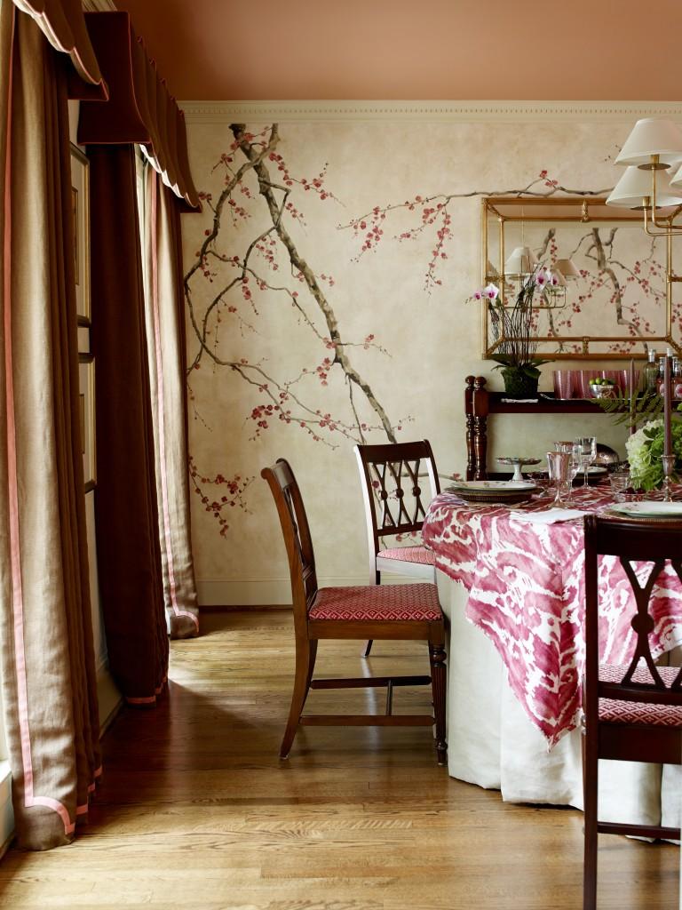 Catherine M. Austin Interior Design/ Stanwyck Dining Room