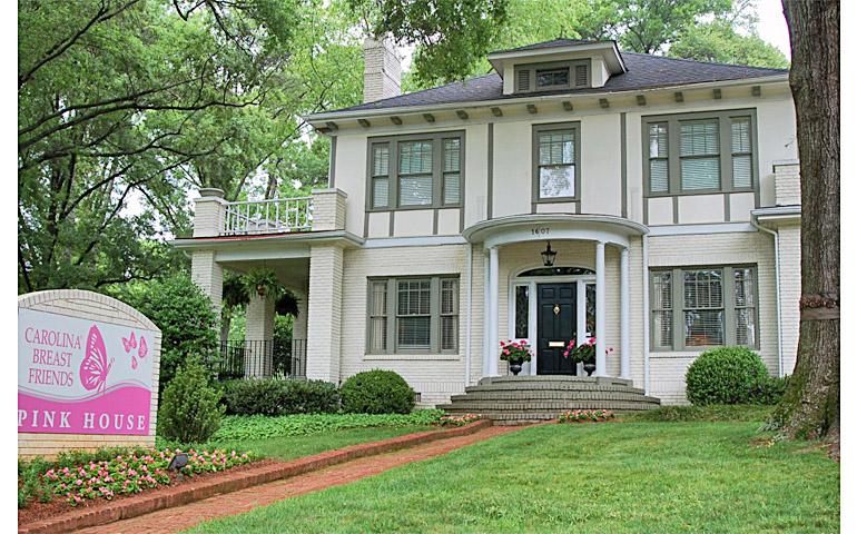 Catherine M. Austin Interior Design/ Pink House Exterior