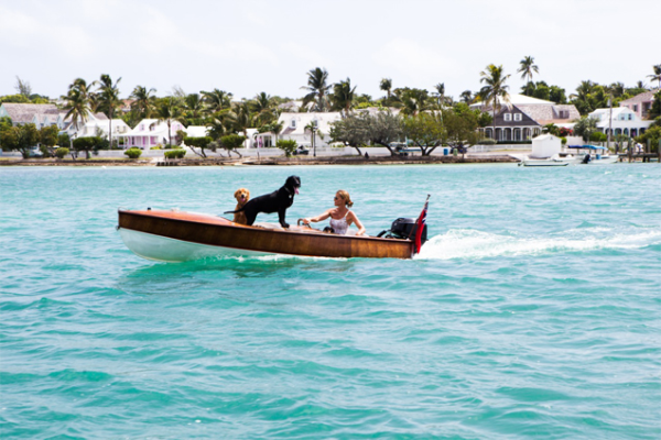 india hicks in boat