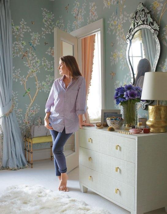 inspirational icon aerin lauder catherine m austin interior design. Black Bedroom Furniture Sets. Home Design Ideas