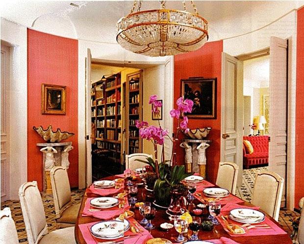 Pretty In Pink Interiors Carolina Herrera Spring 2016 Catherine M Austin Interior Design