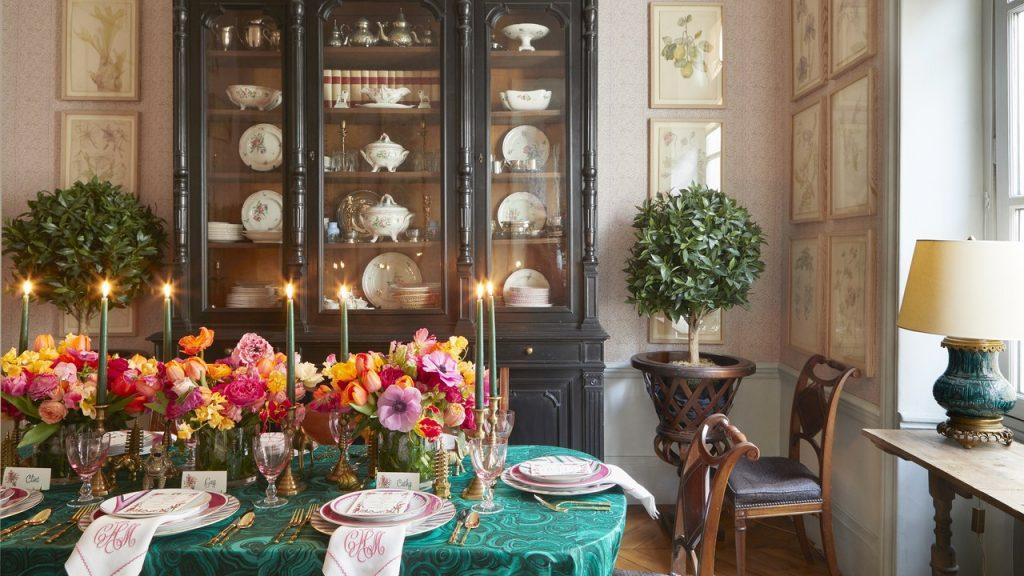 Elsie De Wolfe And Tony Duquette Inspire A Dinner Party In Paris