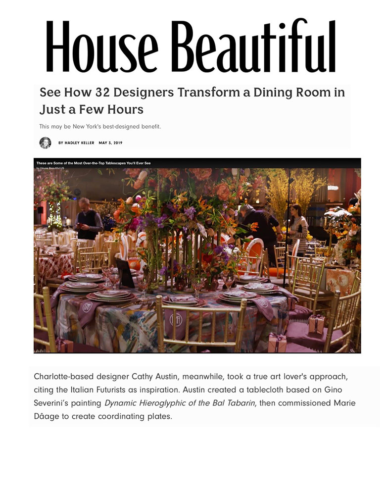 House Beautiful article